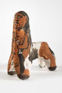 Pablo PICASSO - Ceramiche - Centaure au verre