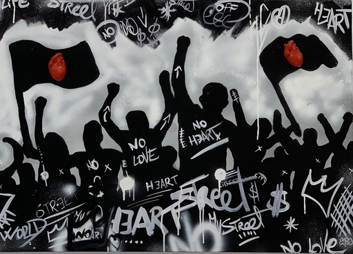 COBO - Pittura - No love