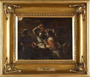 Stanislaw GROCHOLSKI - Gemälde - In an Inn