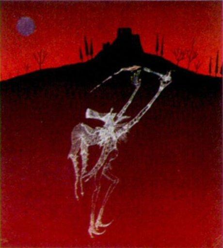 Joan PONÇ - 版画 - Catellnou-1