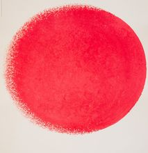 Rupprecht GEIGER - Grabado - Ausstellungsplakat Galerie der Künstler