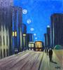 Valeriy NESTEROV - Pintura - Bakuninskaya Street. Moscow