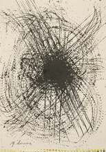 Yasuo SUMI - Pintura - Early Gutai Work Sketch 12