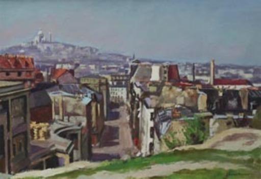 Georges PACOUIL - Painting - Le Sacré-Coeur