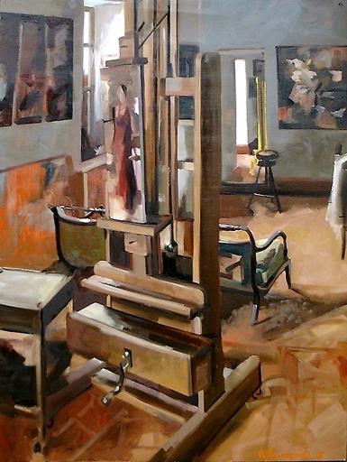 Christoff DEBUSSCHERE - Pintura - La maison de Chalo