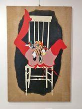 Giuseppe GUERRESCHI - Pintura - sulla sedia