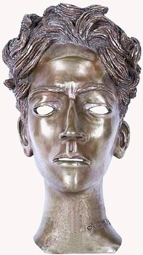 Jean MARAIS - Sculpture-Volume - Portrait de Cocteau