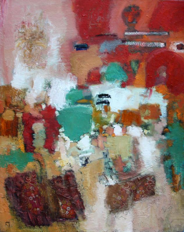 Levan URUSHADZE - Pittura - Composition # 73