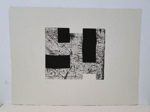 Eduardo CHILLIDA - Print-Multiple - Sin título