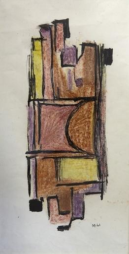 Manuel DE LA CRUZ GONZALEZ LUJAN - Drawing-Watercolor - Abstracto