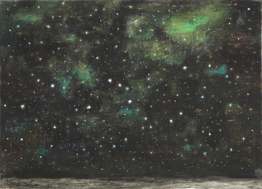 Natale ADDAMIANO - Painting - Con le stelle