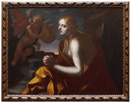 Pietro Francesco GIANOLI - Painting - Maddalena penitente