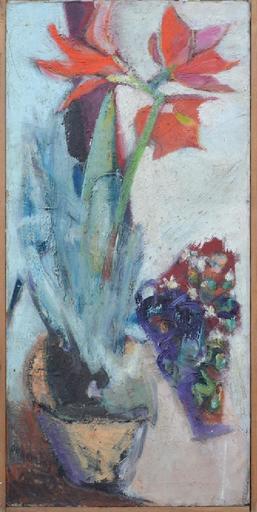 Isaac DOBRINSKY - Painting - Floral still-life
