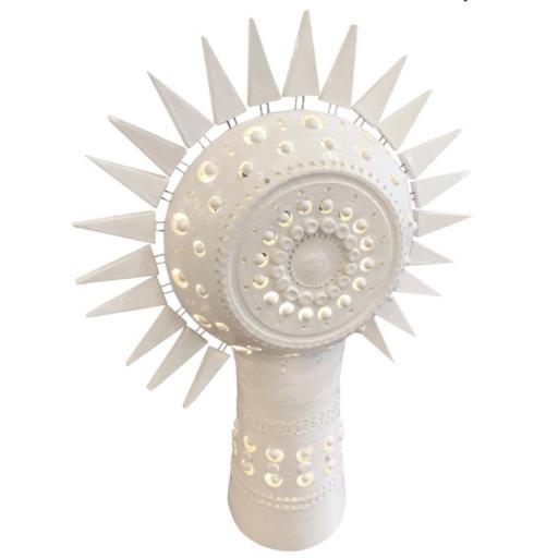 Georges PELLETIER - Ceramiche - Luminaire céramique