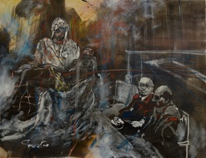Uri LIFSHITZ - Pintura - Pieta