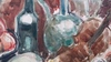 Aharon GILADI - Dibujo Acuarela - Still life with Musical Instruments