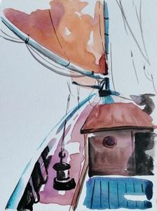 Diana KIROVA - Drawing-Watercolor - CTBG04