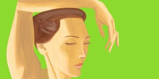 亚历克斯·卡茨 - 版画 - Homage to Degas