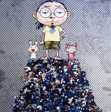 Takashi MURAKAMI - Print-Multiple - Kaikai Kiki & Me: On the Blue Mound of the Dead