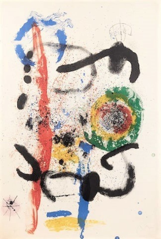 Joan MIRO - Stampa-Multiplo - The Cascade