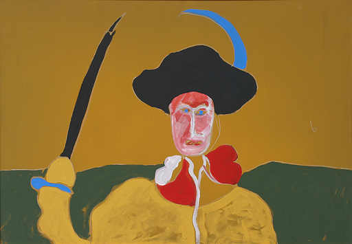 Tano FESTA - Gemälde - Don Chisciotte