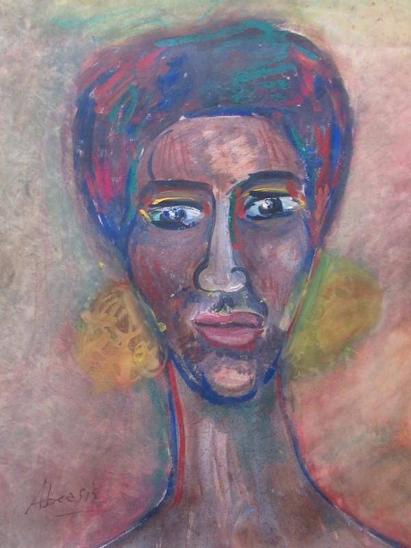 André ABEASIS - Pittura - Portrait