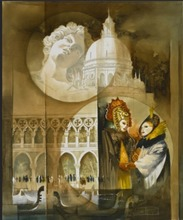 Roger SURAUD - Peinture - Masques