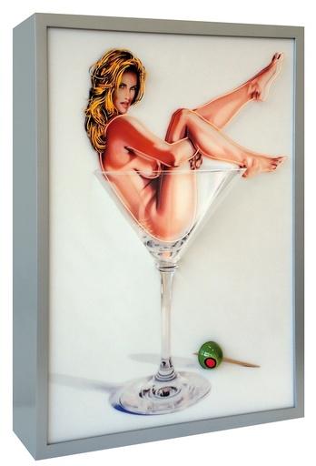 梅尔·拉莫斯 - 雕塑 - Martini Miss #1