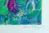 Marc CHAGALL - Estampe-Multiple - Abdullah Discovered Before him