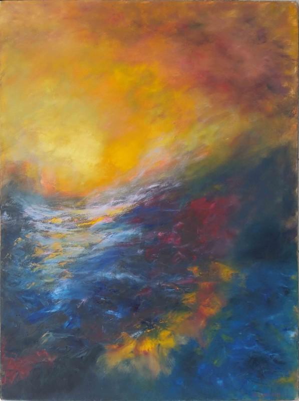 Marc LERUDE - Pittura - Au Coeur
