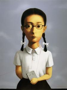 ZHANG Xiaogang - Estampe-Multiple - Bloodline Series: Girl