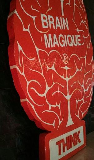 Pep MARCHEGIANI - Sculpture-Volume - Brain magique