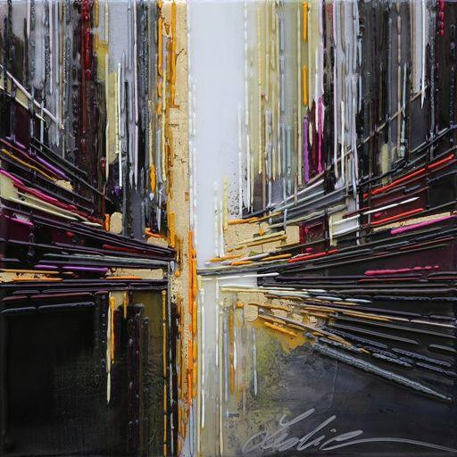Leslie BERTHET LAVAL - Peinture - Cité Urbaine XXXI
