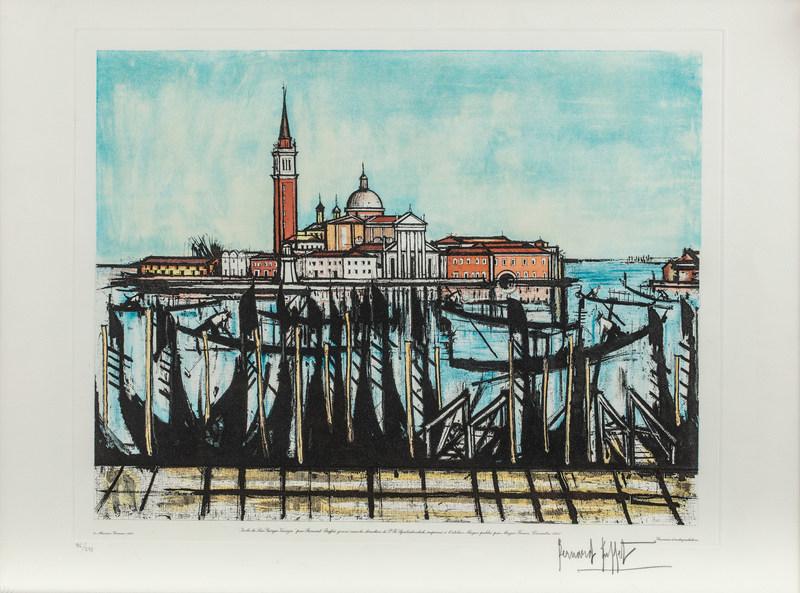 Fine Venise By Bernard Buffet Buy Art Online Artprice Home Interior And Landscaping Spoatsignezvosmurscom