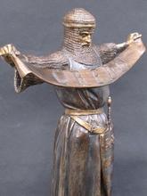 Emmanuel FRÉMIET - Sculpture-Volume - Chevalier croisé en Terre Sainte