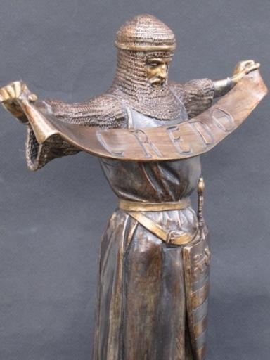 Emmanuel FRÉMIET - Escultura - Chevalier croisé en Terre Sainte