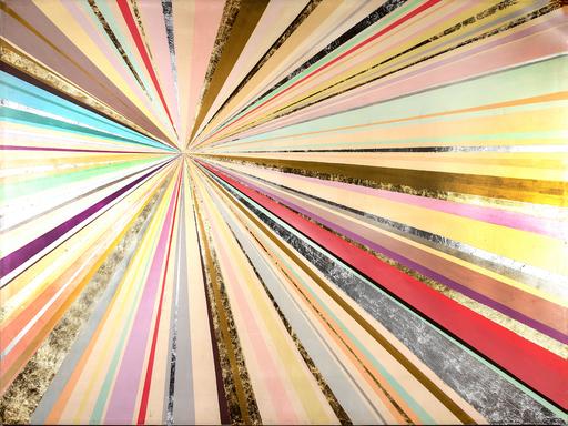Alexandra BERNARDINI - Painting - Celebration of  Life 150x200 Sonne 2020