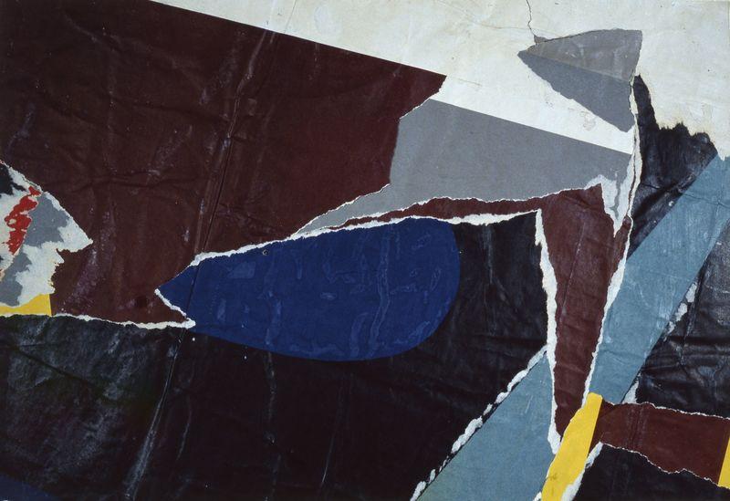 Jacques VILLEGLÉ - Peinture - RUE RENÉ BOULANGER