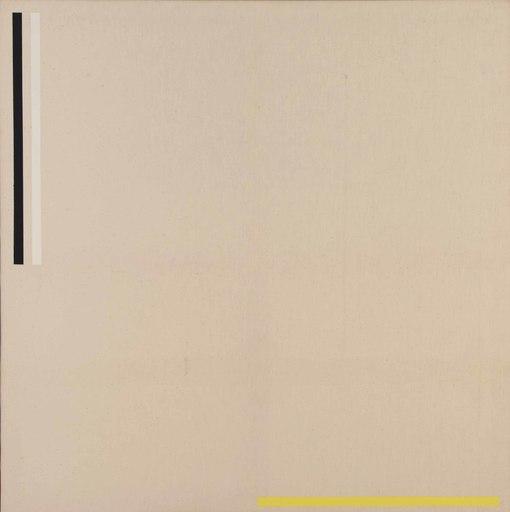 Heinz GRUCHOT - Gemälde - Tricoloured Composition