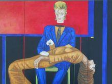 Christian SATIN - Peinture - David Robert Jones 1947    (Cat N° 5512)