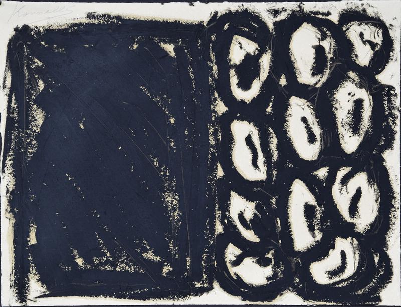 Jannis KOUNELLIS - Peinture - Senza titolo