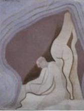 "André BEAUDIN - Pittura - ""Desnudis"""