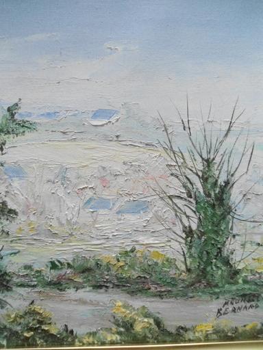 Bernard MAURICE - Peinture - Le printemps.