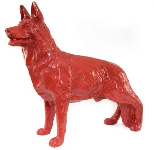 William SWEETLOVE - Sculpture-Volume - Cloned Red terrier