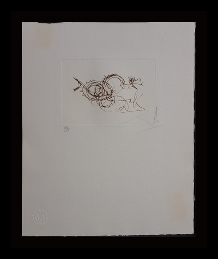 萨尔瓦多·达利 - 版画 - Symbols Working