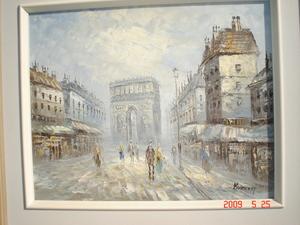 Caroline C. BURNETT - Painting - arc de triomphe