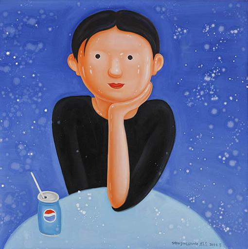 SHEN Jingdong - Painting - Moments