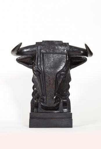 Kelli BEDROSSIAN - Escultura - Tête de Taureau