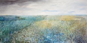 Sibylle DUHM-ARNAUDOV - Painting - Mondwiese