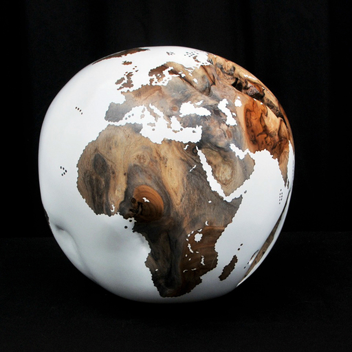 Bruno HELGEN - Sculpture-Volume - Globe
